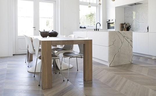 Houten Vloer Visgraat : Onderzoek naar voorkeur houten vloeren in friesland visgraat in
